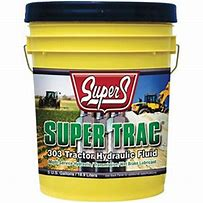 Oils : Super S SuperTrac 303 Tractor Hydraulic Fluid, 5 gal